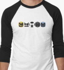 Warriors Clans V1 Men's Baseball ¾ T-Shirt