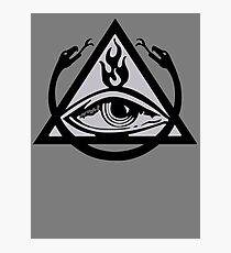 The Order of the Triad (The Venture Brothers) - No text! Photographic Print