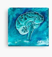 The Blue Brain Canvas Print