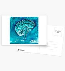 The Blue Brain Postcards