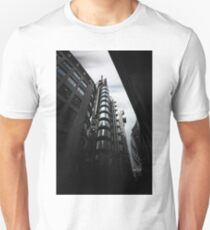 The lloyds Building & Gherkin London.  Unisex T-Shirt