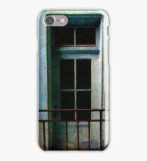 Blue Balcony iPhone Case/Skin