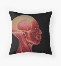 The Muscles Throw Pillow