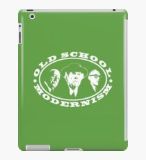 Old School Modernism Architecture T shirt iPad Case/Skin