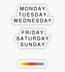 The Weeknd - Thursday Sticker