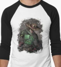 Gunslinger Fett Men's Baseball ¾ T-Shirt