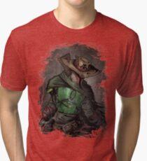 Gunslinger Fett Tri-blend T-Shirt