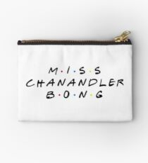 MISS CHANANDLER BONG Zipper Pouch