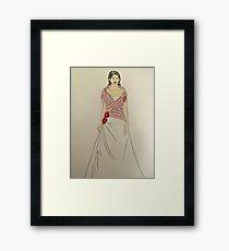 Wedding Dress No 2 Framed Print