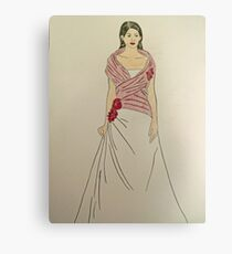 Wedding Dress No 2 Canvas Print