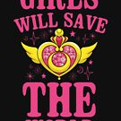 Mädchen werden die Welt retten von kjanedesigns