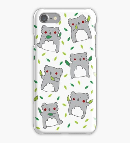 Koala dance iPhone Case/Skin