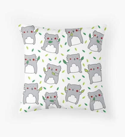 Koala dance Throw Pillow