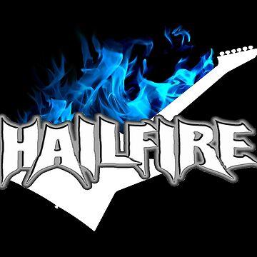 Hailfire Blue Fire  by mattwestpfahl