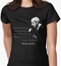 Leonard Cohen Tailliertes T-Shirt