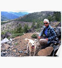 Hiking in the Shasta National Forest, California  Poster