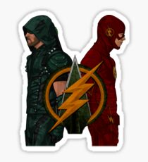 Flarrow - Flash and Arrow Sticker