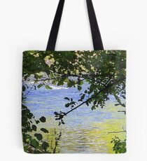 Where The Salmon Live Tote Bag