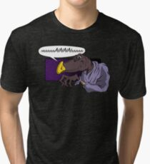 QUIET YOU WHIMPERING WORM! Tri-blend T-Shirt