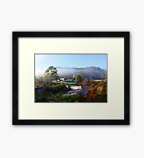 Across The Weir -  Forth Tasmania Framed Print