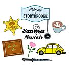 Emma Swan Comic Icons by Marianne Paluso
