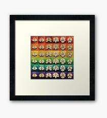 The Brain Bow Framed Print