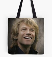 Bon Jovi You Were Born To Be My Baby Tote Bag