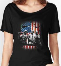 Vietnam Veterans 3 Soldiers Women's Relaxed Fit T-Shirt