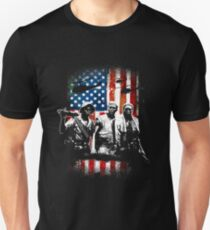 Vietnam Veterans 3 Soldiers Unisex T-Shirt
