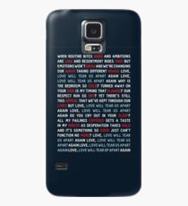 Joy Division - Love Will Tear Us Apart Case/Skin for Samsung Galaxy