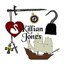 Killian Jones/Captain Hook Comic Icons by Marianne Paluso