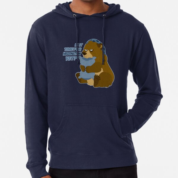 Is it Time for Hibernation Yet? Lightweight Hoodie