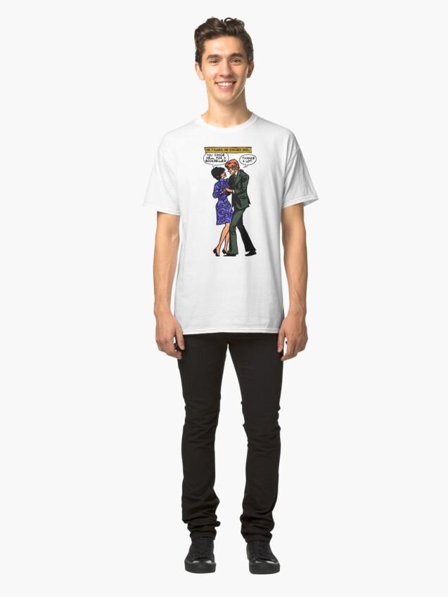 Vista alternativa de Camiseta clásica You Dance Well, para ser una librería