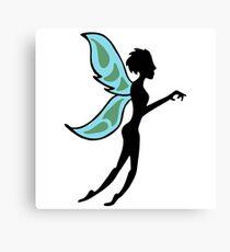 faery fairy sprite Canvas Print