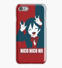 Red, White and Nico! iPhone Case/Skin