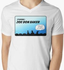 Mystery Science Theater 3000 and Joe Don Baker. A love/hate relationship Mens V-Neck T-Shirt