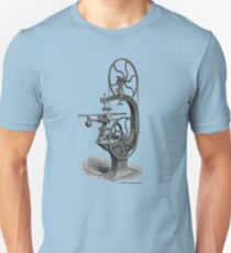 Griffith's Patent Band Saw c1890 Unisex T-Shirt