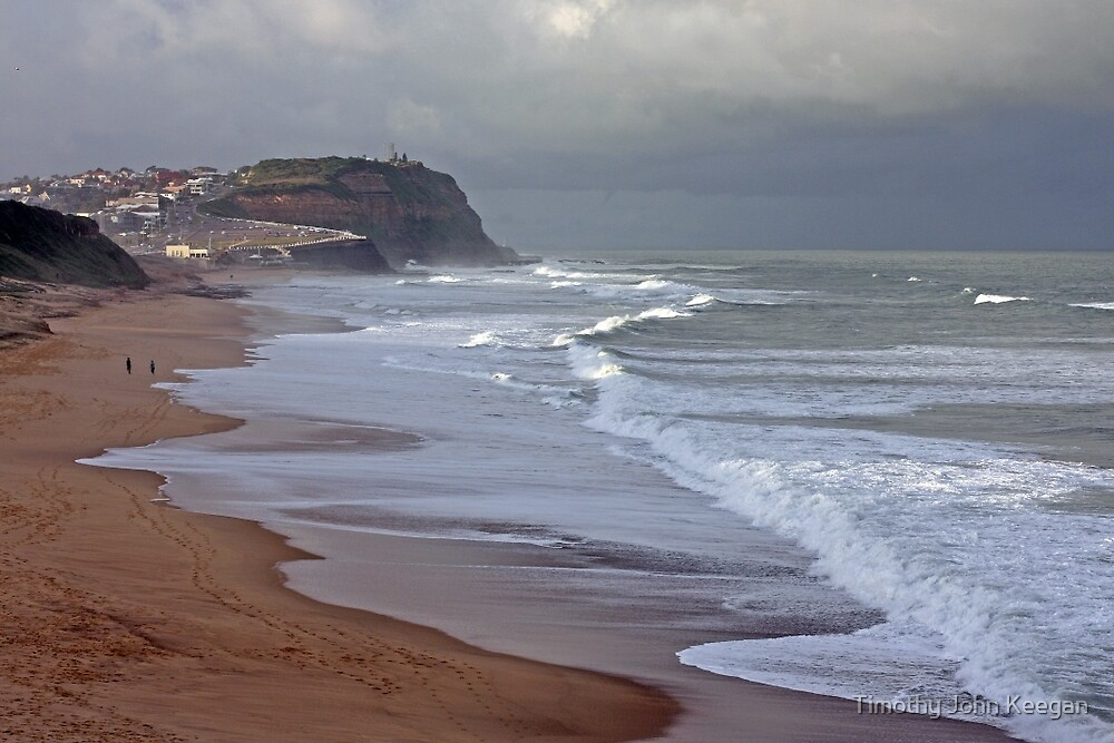 The beach by Timothy John Keegan