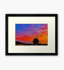 Sea Ranch Sunset, Sea Ranch, CA Framed Print
