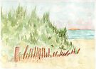 The Beach ( my first one) by Anne Gitto