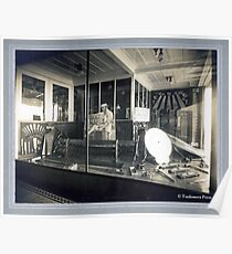 Cabinet Cart: Atkins Saw Co. Display Window Poster