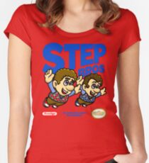Step Bros Women's Fitted Scoop T-Shirt