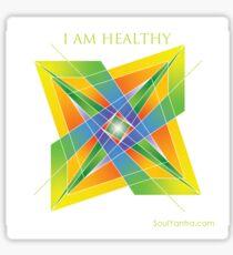 I AM HEALTHY - YANTRA Sticker