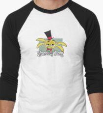 Monkey Rag - Spanko Grin And Logo Men's Baseball ¾ T-Shirt