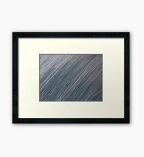 Ocean Brush Strokes Framed Print