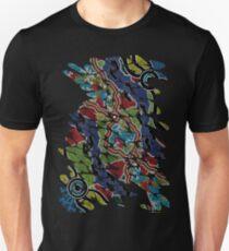Authentic Aboriginal Art - Walkabout Unisex T-Shirt