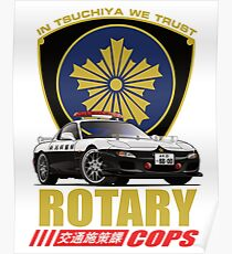 Rotary Cops RX7 FD Poster