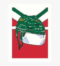 Minnesota Wild Mikko Koivu Art Print