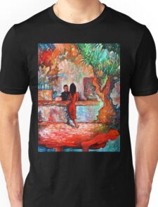 Plein Air Cafe Unisex T-Shirt
