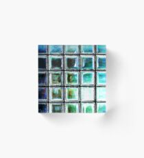 glass block shot Acrylic Block